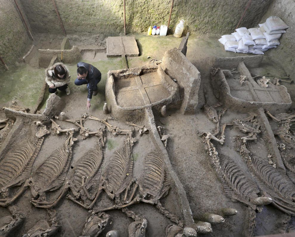 Ancient Chinese tomb dating back 2,500 years uncovered to shed light on obscure kingdom