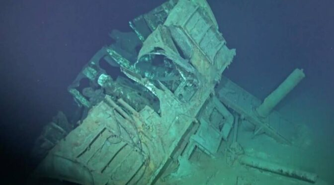 Researchers Just Found The Deepest Shipwreck On Earth Four Miles Below The Pacific