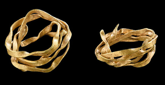 3,800-Year-Old Gold Ornament Unearthed in Germany