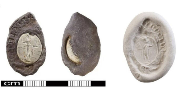 Damaged Medieval Seal Discovered in Eastern England