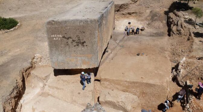A mystery bigger than that of Egypt's pyramids its these massive stone blocks weighing 1,650 tons