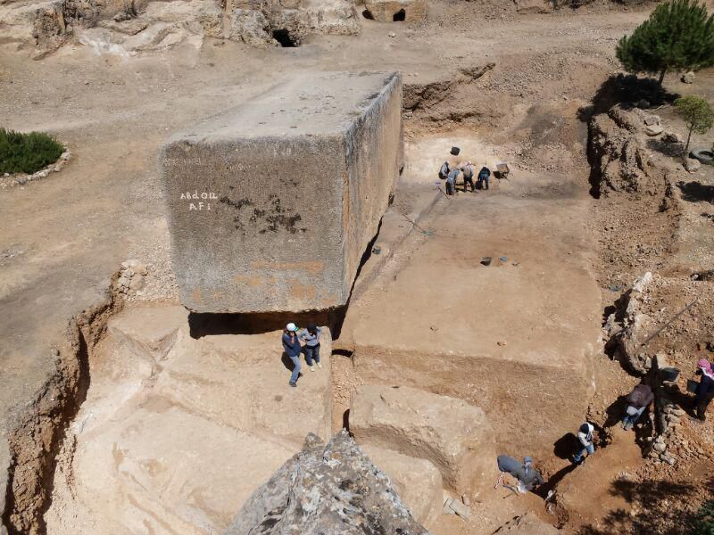 A mystery bigger than that of Egypt's pyramids its these massive stone blocks weighing 1650 tons