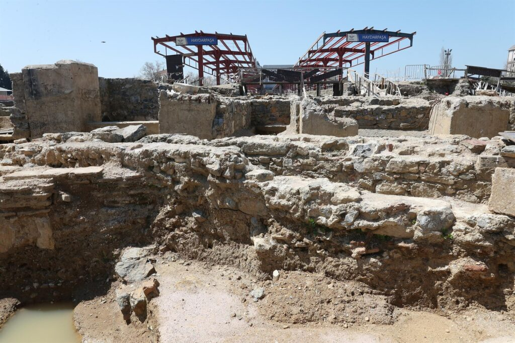 Apse Dated to Third Century B.C. Uncovered in Istanbul