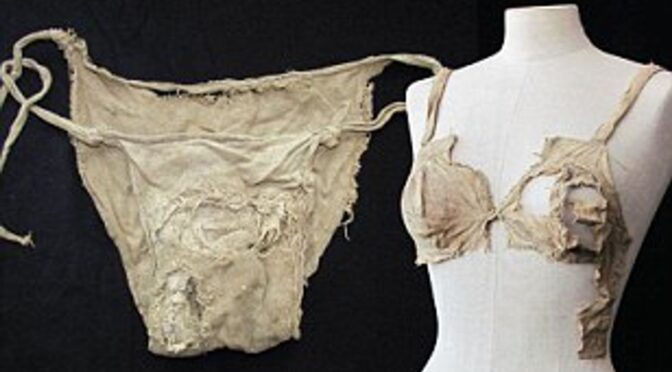 600-year-old Medieval lingerie set found in an Austrian castle