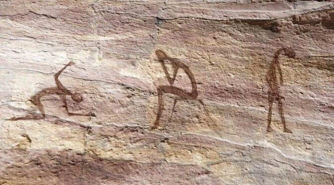 Newly Discovered Cave Paintings Suggest Early Man Was Battling A Lot Of Inner Demons