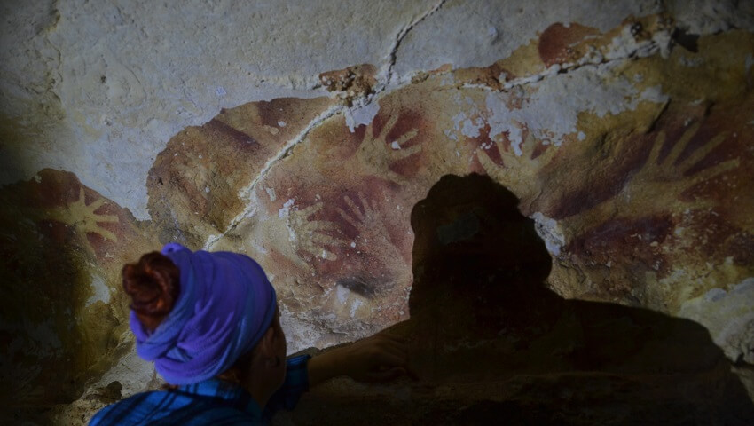 Indonesia's Early Rock Art Damaged by Climate Change