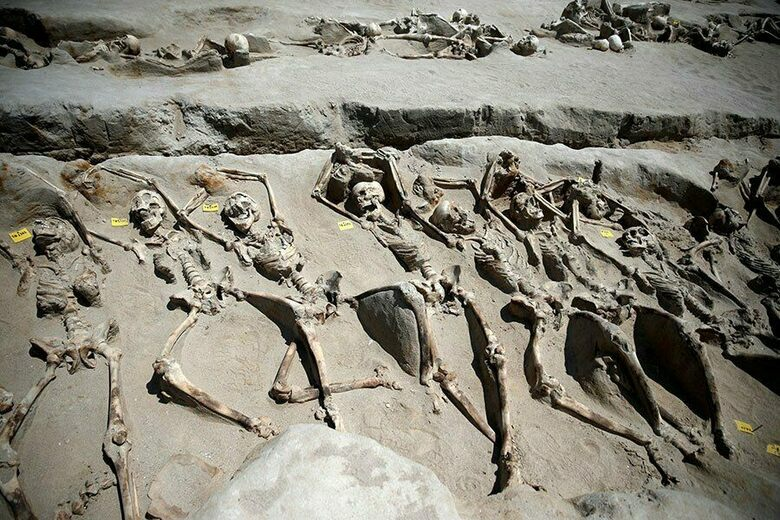 Shackled Skeletons Unearthed in Greece Could Be Remains of Slaughtered Rebels