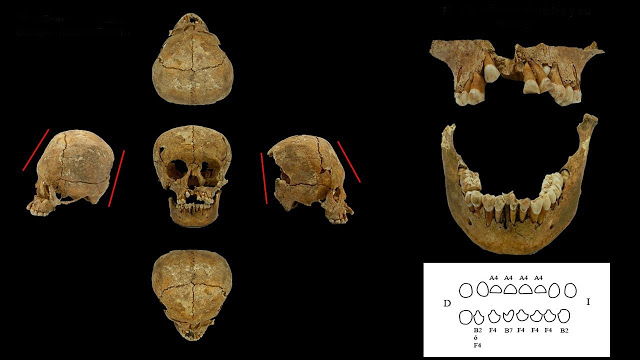 Mexico analyzes bones and objects from 1,400 years ago found in Michoacán