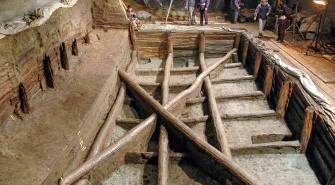In Italy, a giant water tank has been linked to prehistoric rituals.