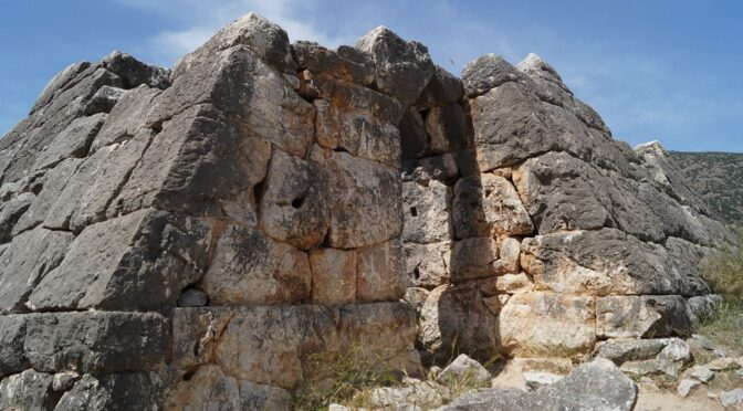 Ancient Greek Pyramids: A Unique Phenomenon and an Archaeological Mystery