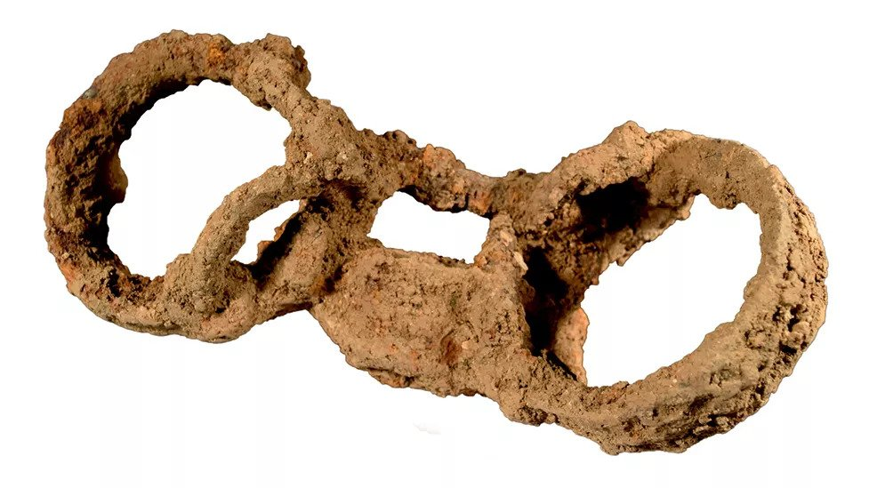 The shackled skeleton may be the first direct evidence of slavery in Roman Britain