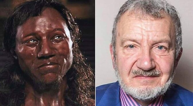 British teacher finds long-lost relative: 9,000-year-old man