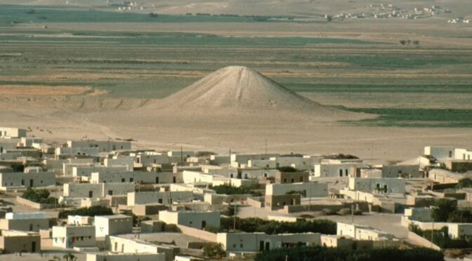 A pyramid-shaped mound holding 30 corpses may be the world's oldest war monument