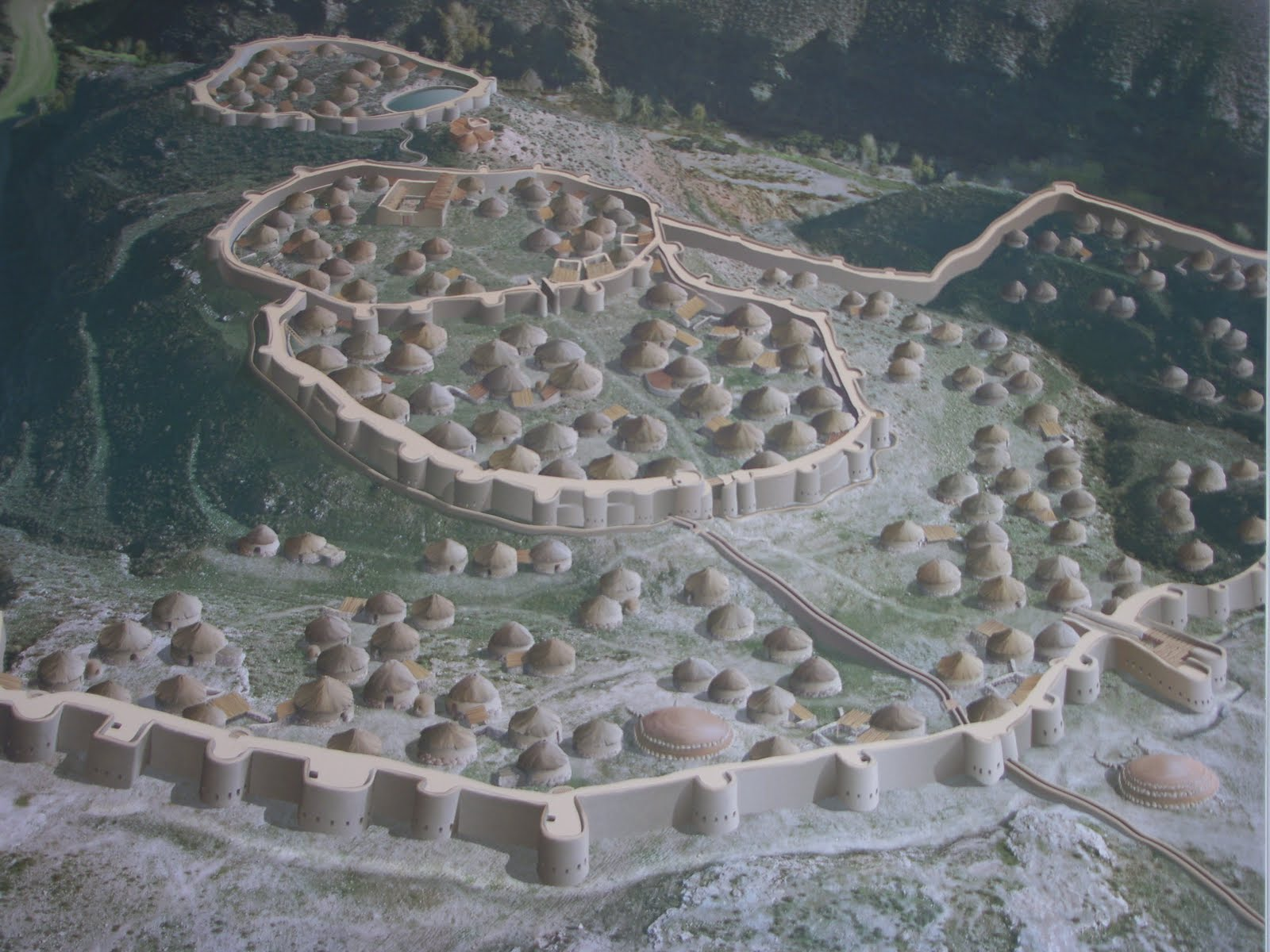 Los Millares- The Largets Known Fortified Neolithic Settlement in Europe