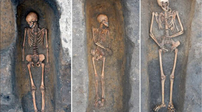 Plague Victims Identified in Individual Graves in England