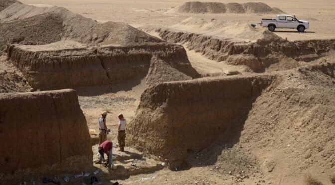 First Human Traces Buried in an Ancient Gold Mine in Eastern Sahara