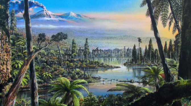 Traces of ancient rainforest in Antarctica point to a warmer prehistoric world