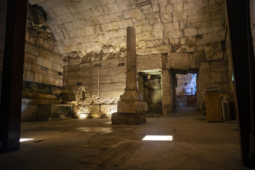 Magnificent 2,000-year-old 'city hall' unearthed near Western Wall in Jerusalem