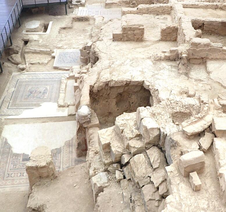 Rock-Cut Chambers Unearthed in Turkey's House of the Muses