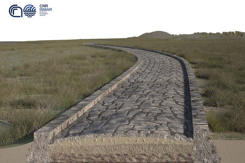 Ancient Roman Road Discovered at the Bottom of Venice Lagoon