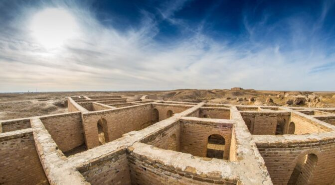 The 4,000-year-old city discovered in Iraq