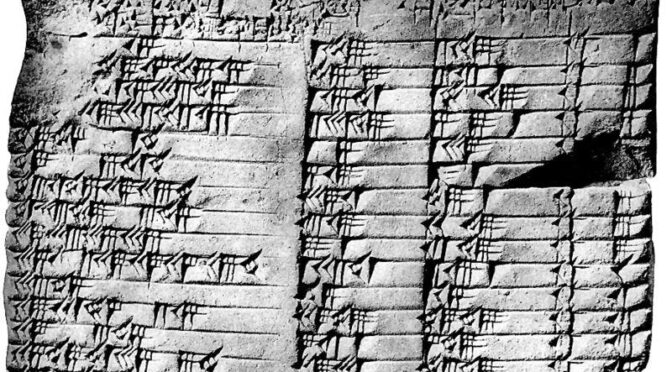 3,700-year-old Babylonian tablet rewrites the history of maths – and shows the Greeks did not develop trigonometry