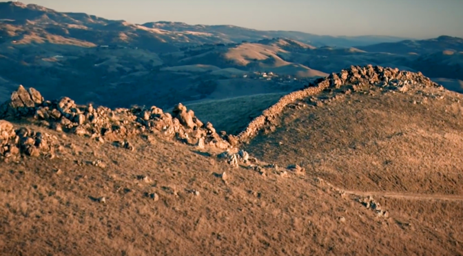 """Mystery of the """"East Bay"""" rock walls in California?"""