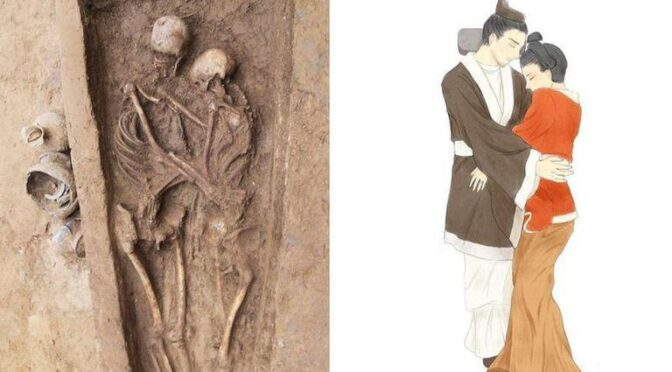 Archaeologists Discover 1,500-year-old Skeletons Of Couple Buried Together In China