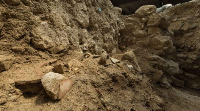 Possible evidence for biblical earthquake found in City of David