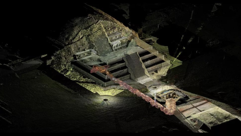 Mexico's Teotihuacan pyramid has 2,000-year-old floral offerings,discovered by archaeologists