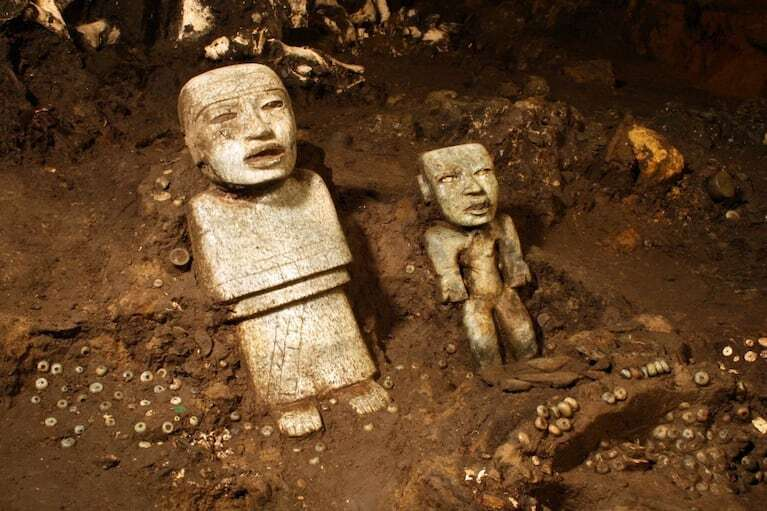 A 2,000-year-old tunnel in the Mexican city of Teotihuacan holds ancient mysteries