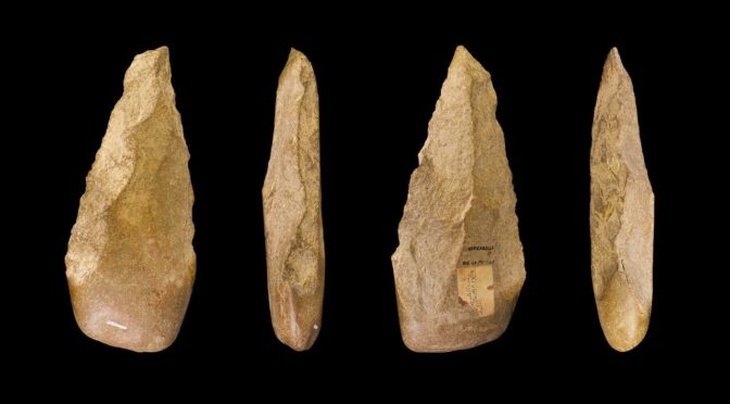 Stone Age axe dating back 1.3 million years unearthed in Morocco