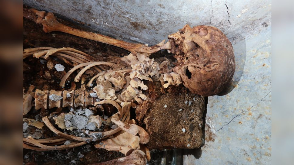 Well-Preserved Human Remains Discovered in Pompeii Tomb