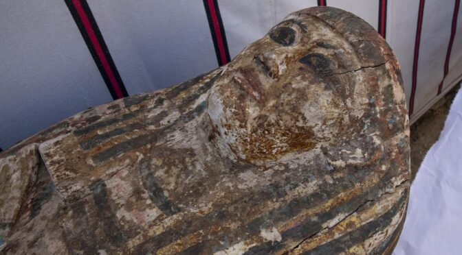 """Egypt Reveals """"History-Changing"""" Discovery of 3,000-Year Old Mummies, Temple and Book of the Dead at Saqqara"""