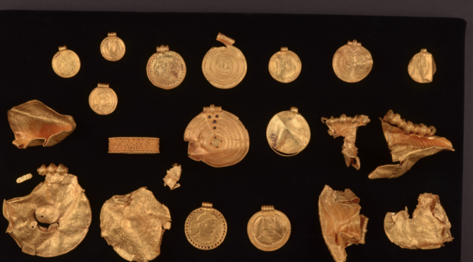 Huge and exquisite gold hoard from Iron Age discovered in Denmark