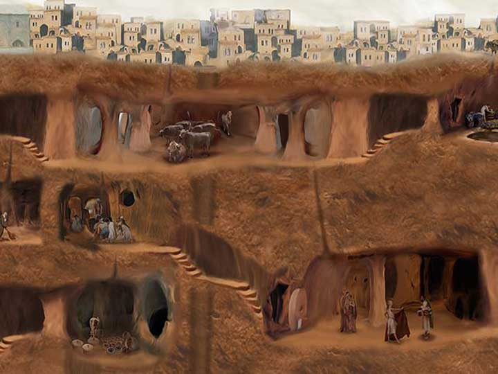 This Ancient Underground City Was Big Enough to House 20,000 People