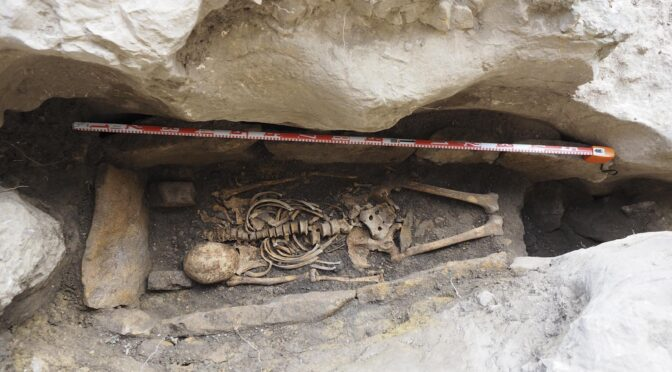 Possible Grave of Medieval Christian Hermit Excavated in Spain