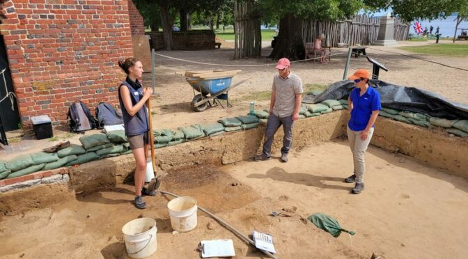 Burned Layer at Jamestown Linked to Bacon's Rebellion