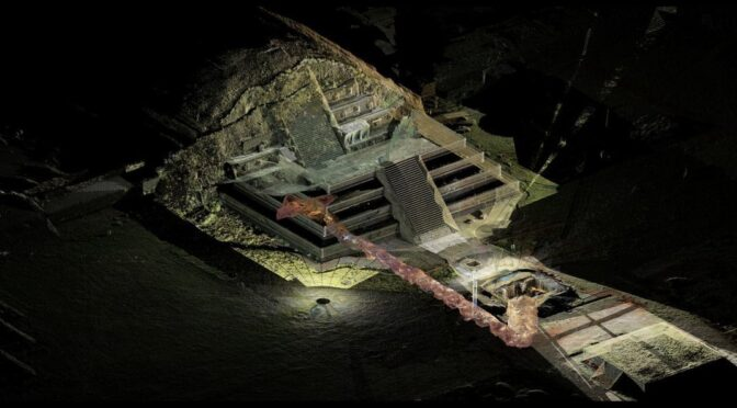 1,800-Year-Old Offering to the Gods Discovered Beneath Pyramid of Teotihuacan