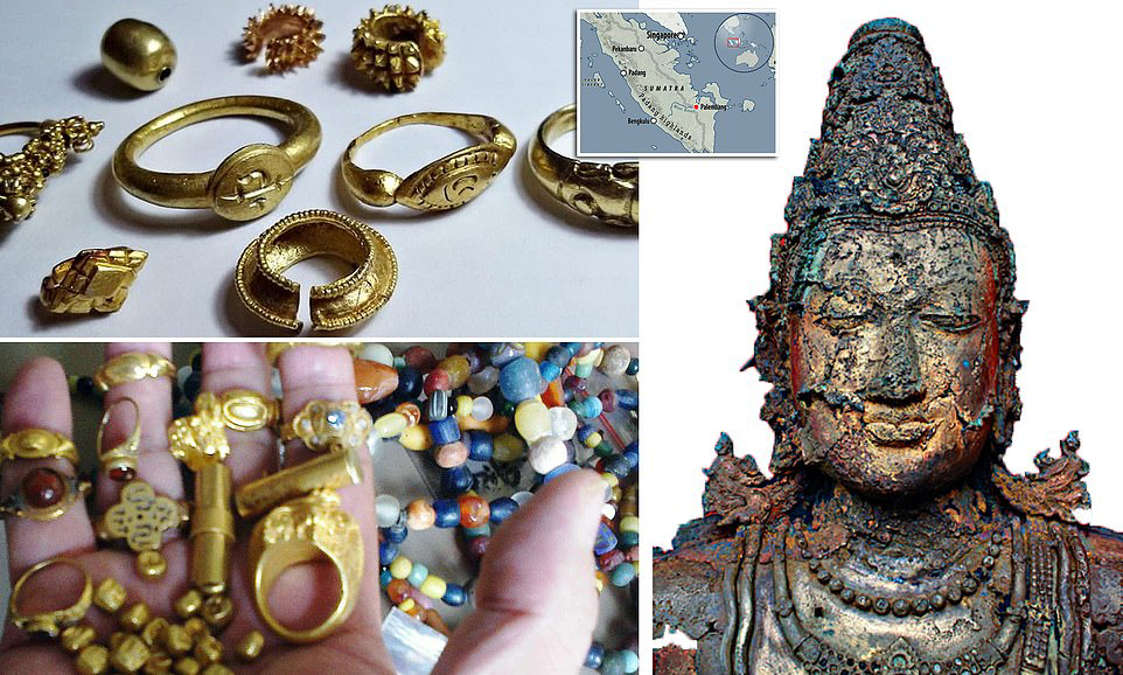 Fishermen discover treasure trove, possibly from Lost Island of Gold