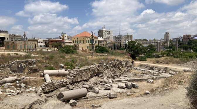 Roman Temple Discovered in Ancient City of Tyre