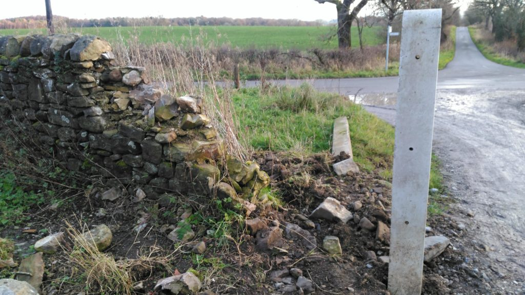 dry stone waller in wigglesworth