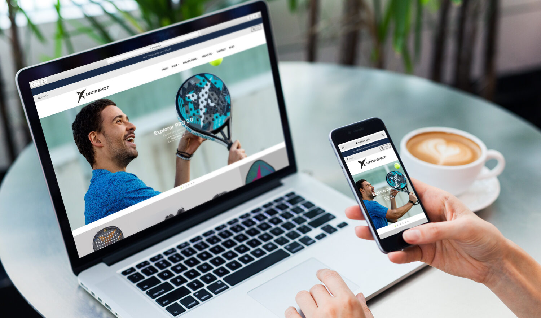 Drop Shot UK Digital marketing case study