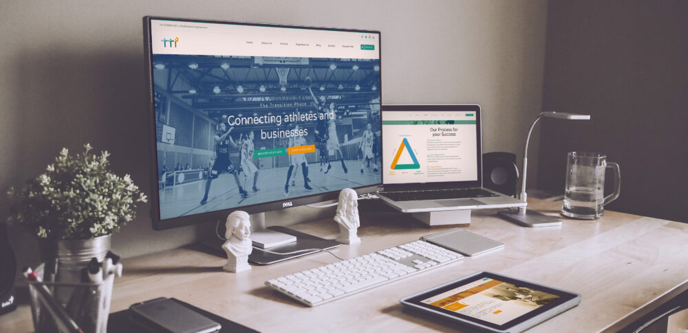 A website for a London startup that helps athletes successfully transition into the workplace. Here is our TTP website design case study.