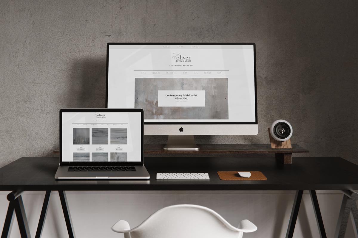 Oliver James Watt website design case study