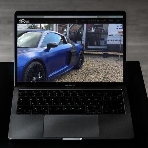 Optimize Wheels Website Design Case Study