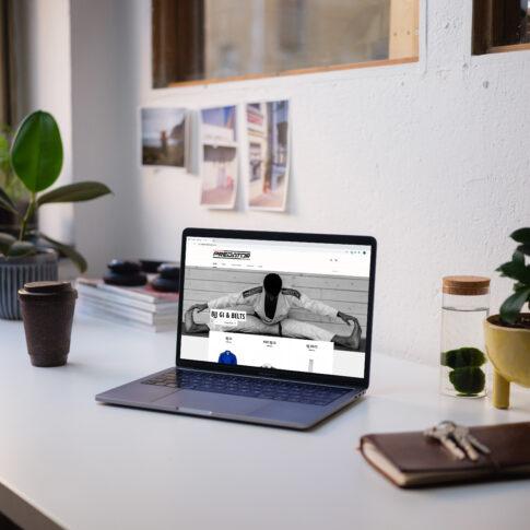 Predator ecommerce website design