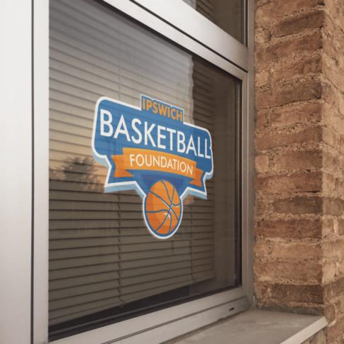 Branding & logo design for a startup basketball charity.