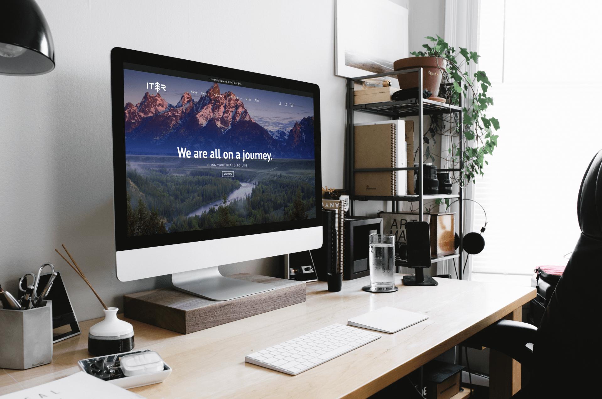 Iter Apparel website design case study