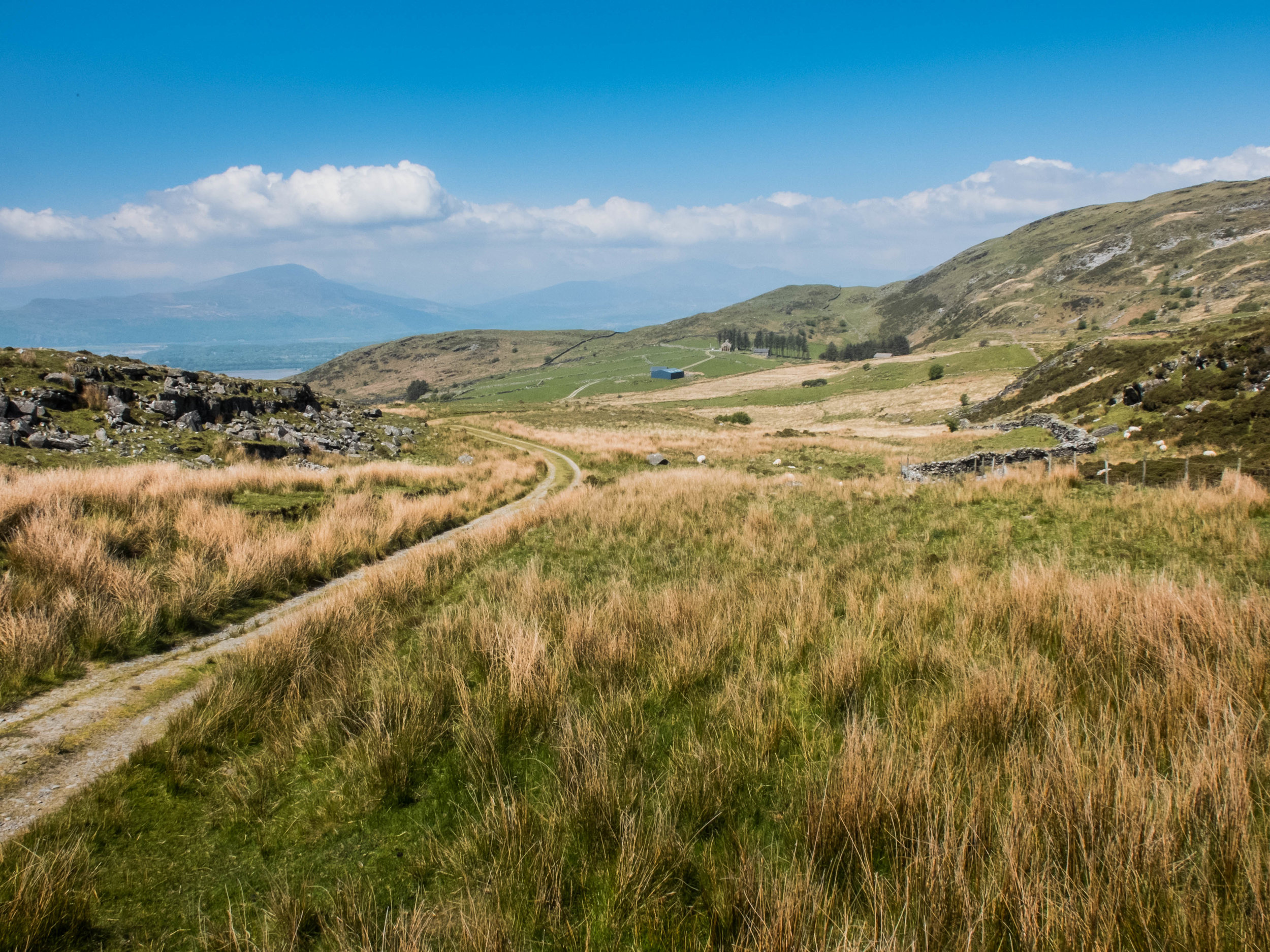 Views from the path towards Bryn Cadern Faner